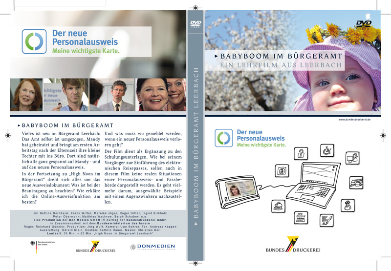 DVD Cover Babyboom im Bürgeramt