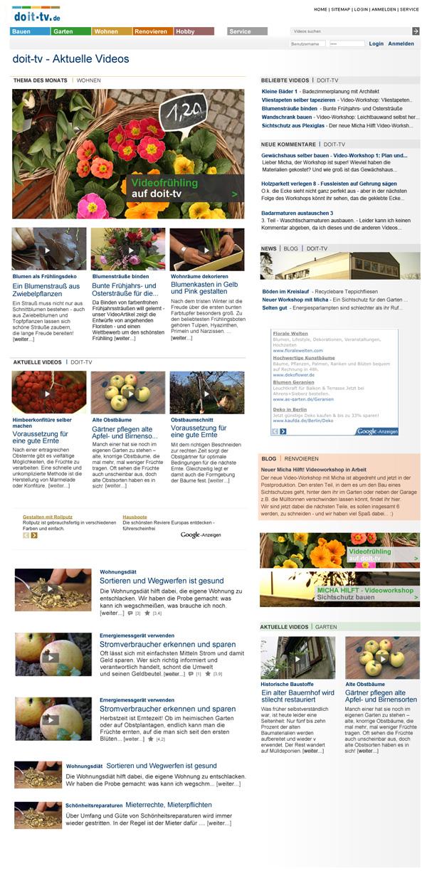 doit-tv Homepage