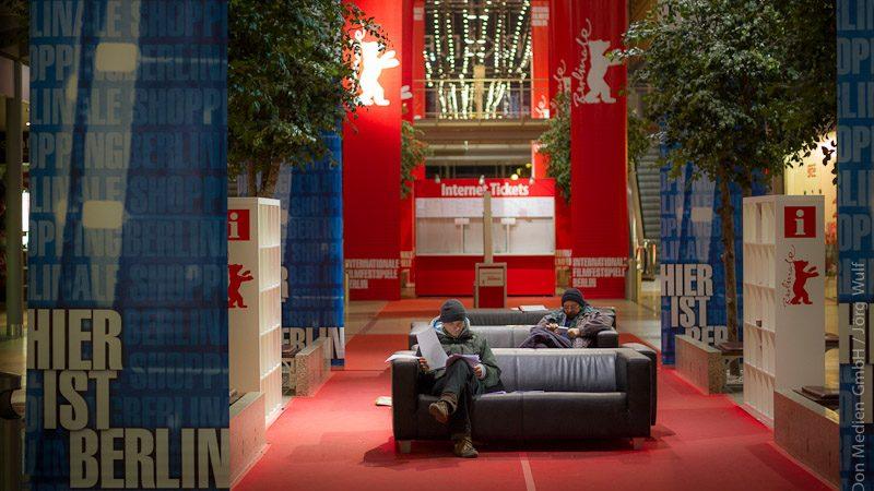 Berlinale-Standartmotiv-Besucher