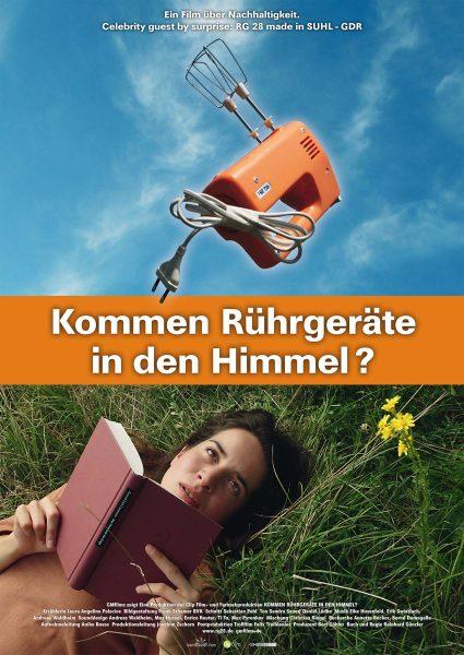 "Filmplakat ""Kommen Rührgeräte in den Himmel"""
