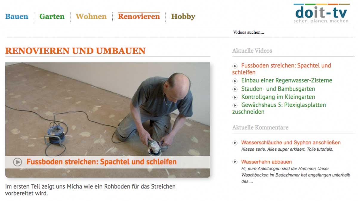 Videoportal Doit-tv.de
